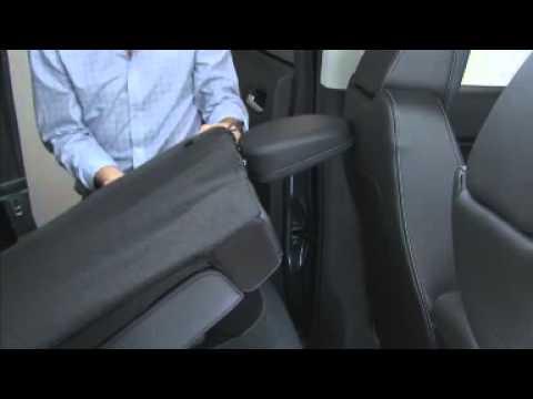 2015 Chevrolet Colorado How To Fold Rear Seats - YouTube