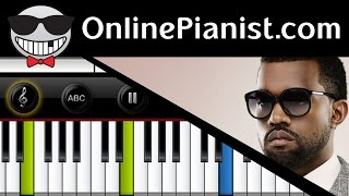 Kanye West ft. Chris Martin - Homecoming - Piano Tutorial & Sheets (Accompaniment Intermediate)