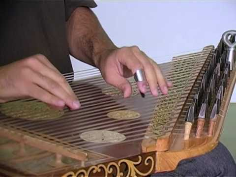 Bassem Alkhouri Demonstrates The Qanun