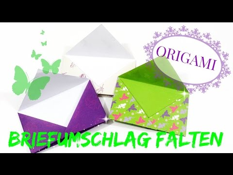 briefumschlag falten origami tutorial briefumschl ge. Black Bedroom Furniture Sets. Home Design Ideas