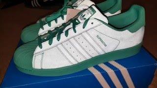 Adidas Superstar Adicolor Reflective Green