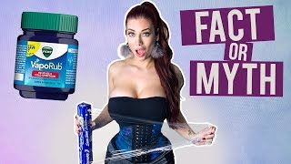 Vicks VapoRub & Waist Training for Belly Fat?