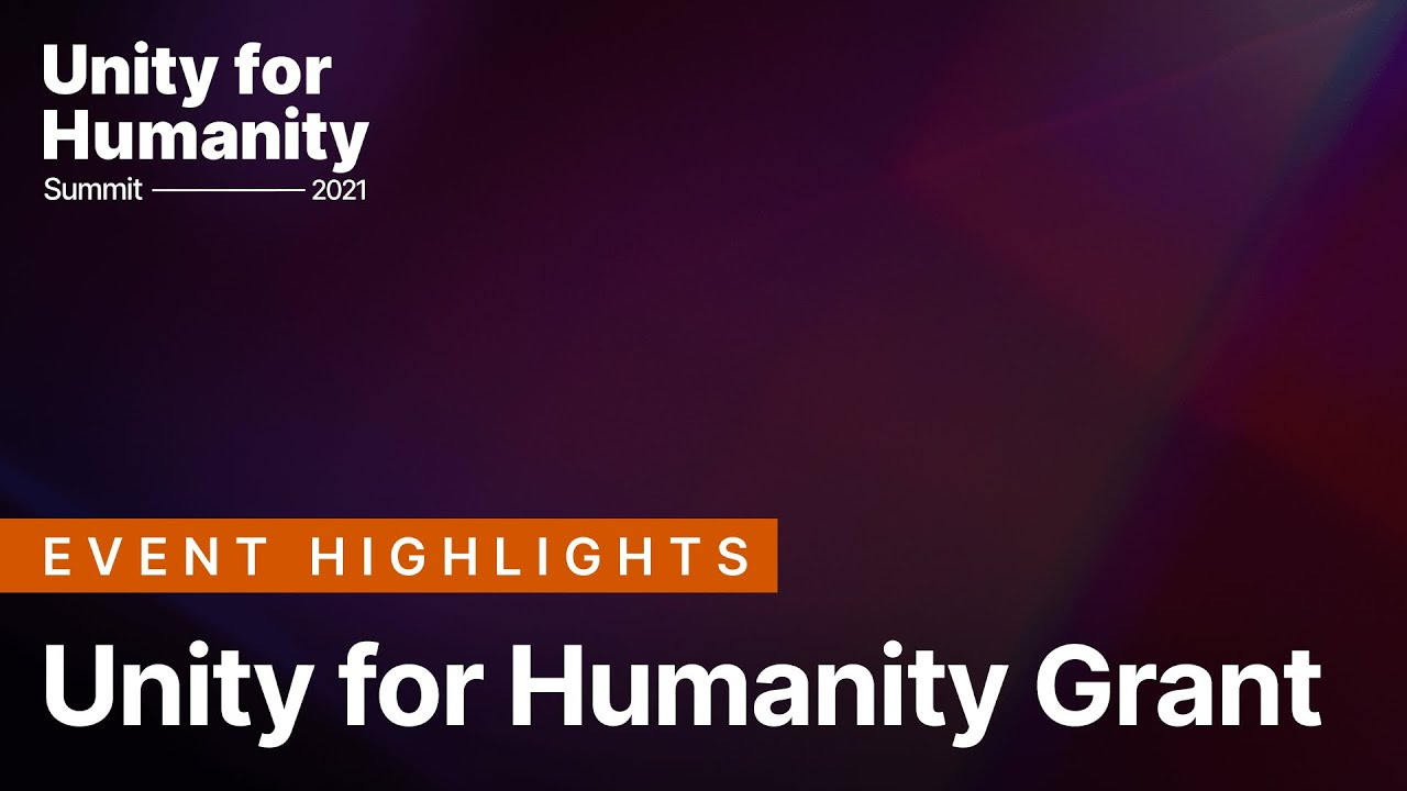 Unity for Humanity Grant 2022   Unity for Humanity
