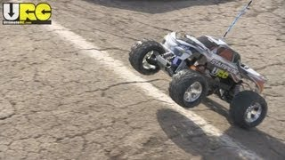 Traxxas Stampede XL-5 2WD at the track, box stock, no music