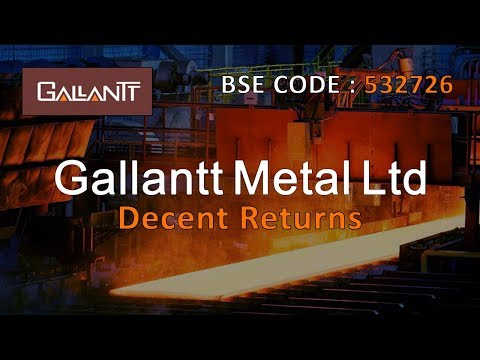 GALLANTT METAL LTD | DECENT APPRECIATION | Stocks and Shares | Share Guru Weekly