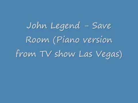 John Legend - Save Room (Piano version)