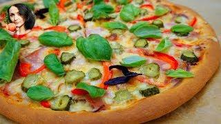 Пицца на ТОНКОМ Тесте. 🍕 | Нюансы приготовления