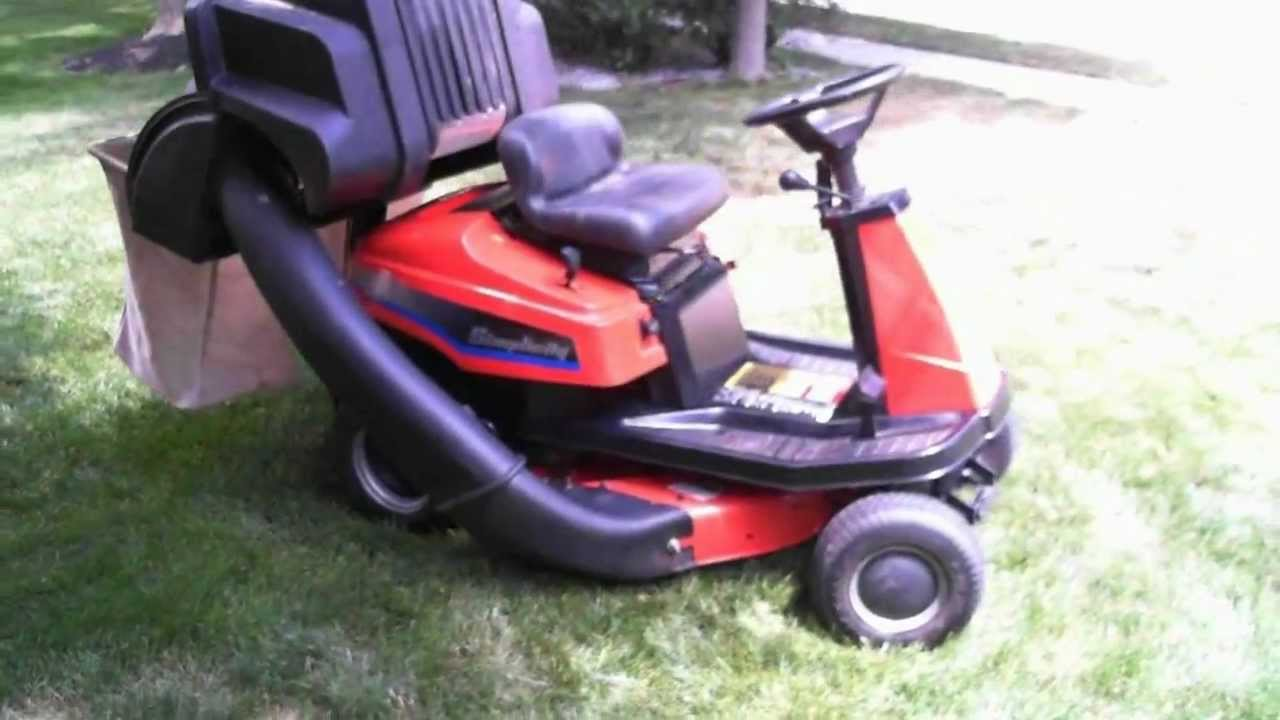 Simplicity Coronet 12 5 Hp Hydro Riding Mower W Auto Leveler System And Dial A Cut You