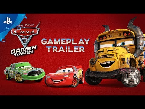 Cars 3: Driven to Win - Gameplay Trailer   PS4, PS3