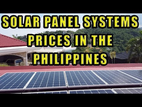 Solar Panel System, Prices In The Philippines.