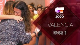 SIGUE EN DIRECTO EL OT CASTING VALENCIA | FASE 1 | OT 2020