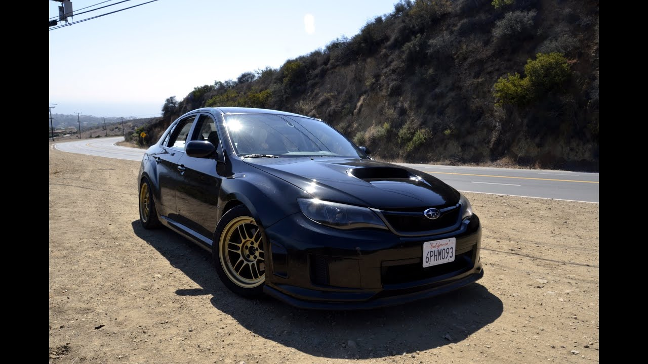 2011 Subaru Wrx Turbo Back Exhaust (340HP) - YouTube