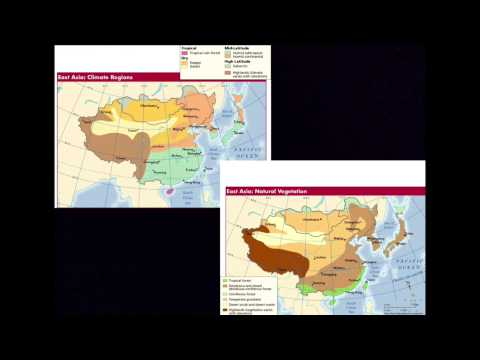 2 Climate and Vegetation of East Asia