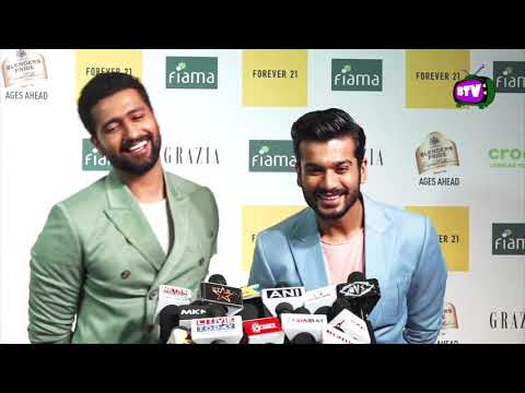 First Time Vicky Kaushal And His Brother Sunny Kaushal At Awards 2019 Mp3
