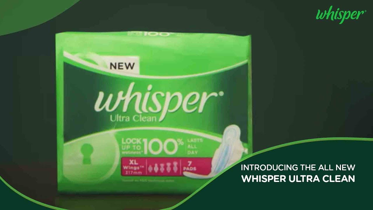 Introducing the all New Whisper Ultra Clean - YouTube