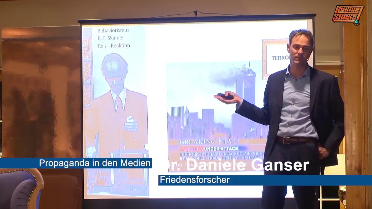 Dr. Daniele Ganser - Propaganda in den Medien | Framing - YouTube