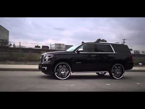 2015 Black Chevy Tahoe LTZ on 28 inch Diablo Morpheus Wheels