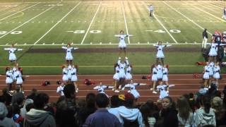 Nathan Hale High School Cheerleading Yell it Shout it out