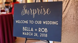 Everyone Thought it was an Engagement Party till this happened! Surprise Wedding!