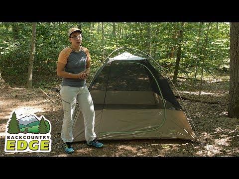 Kelty Grand Mesa 4 3-season Backpacking Tent & Kelty Grand Mesa 4 3-season Backpacking Tent - YouTube