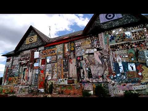 Watch Iron House, Dabl Mbad African Bead Museum in Detroit, MI