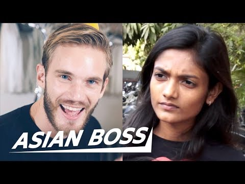 """Do Indians Find PewDiePie&39;s  s """"Racist""""?  ASIAN BOSS"""