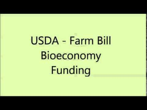 Farm Bill Bioeconomy Funding