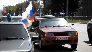 """автопробег """"день города Саранск 2012"""""""