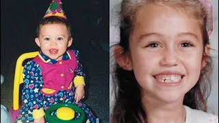 Miley Cyrus: 12 Adorable Photos Of Her As A Kid That We Can't Even Handle
