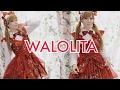 Beautiful Wa Lolita Fusion! Japanese Lolita fashion style dress from DEVILINSPIRED.COM