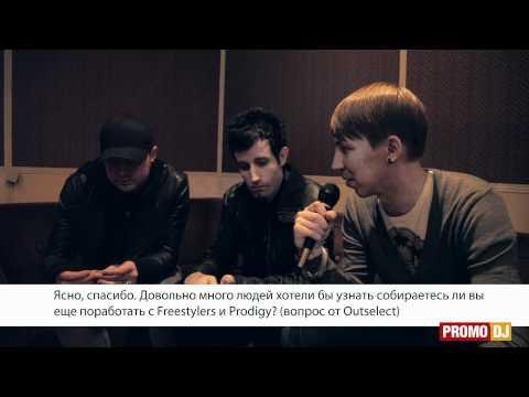 Pendulum Live in Saint-Petersburg + Exclusive Interview for PromoDJ