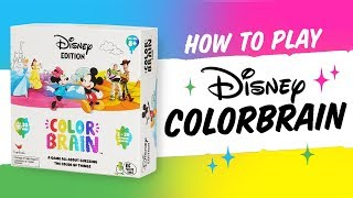 How to play Disney Color Brain