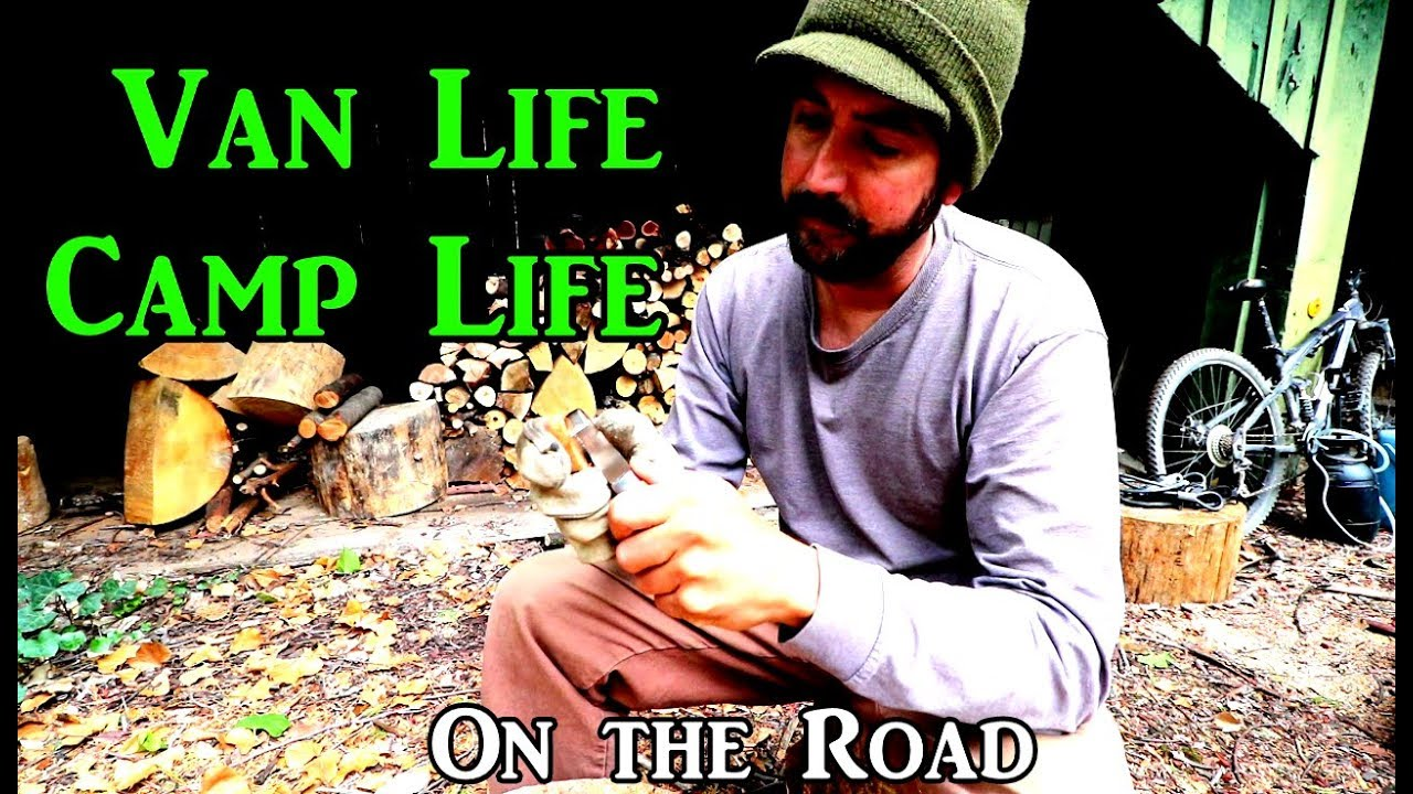 camp-life-wood-carving-vanlife-on-the-road