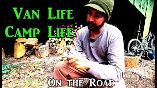 Camp Life Wood Carving VanLife On the Road