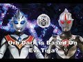 Orb Dark and Evil Tiga Comparison