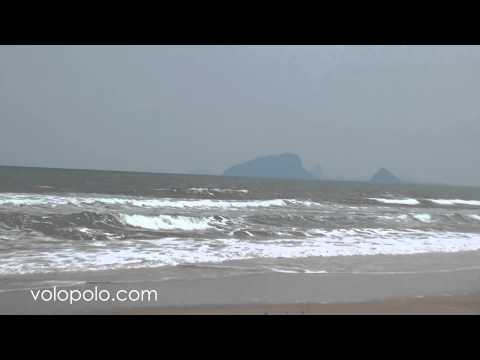 Kuiburi Beach in Prachuap Khiri Khan