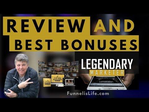 LEGENDARY MARKETER REVIEW ++ The Best Bonuses