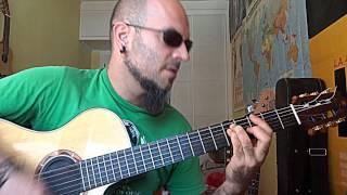 Como tocar LOBO HOMBRE EN PARIS - La Unión (Vídeo 2) ; Tutorial KARMA GUITAR