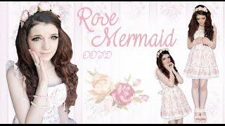 ROSE MERMAID OOTD~
