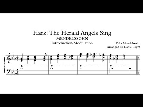 Hark The Herald Angels Sing Introduction To G Major