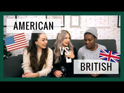 American English vs. British English