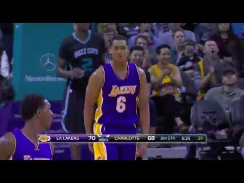Jordan Clarkson Jams on Marvin Williams