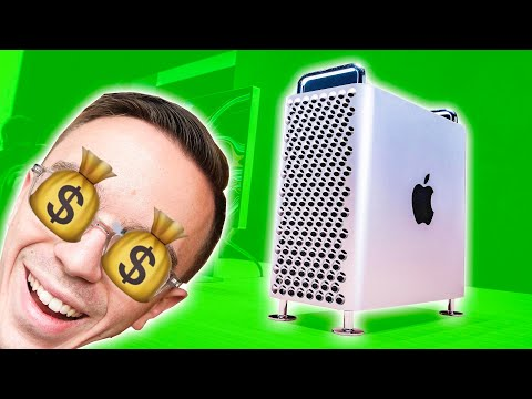 The new Mac Pro is EXPENSIVE