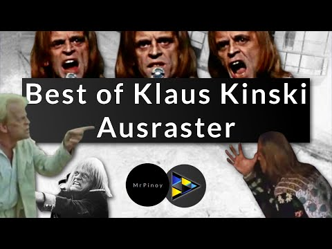 Best of Klaus Kinski Ausraster | Best of Klaus Kinski freak outs