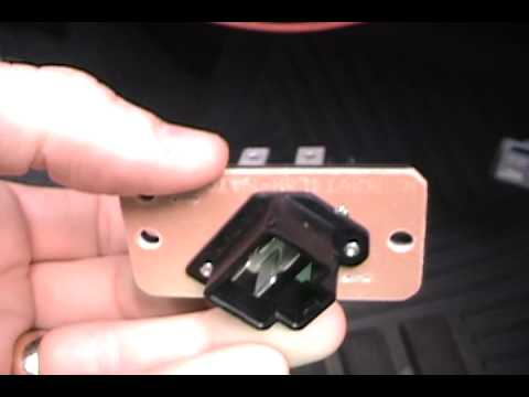 2001 Ford Expedition Blower Motor Resistoravi - YouTube