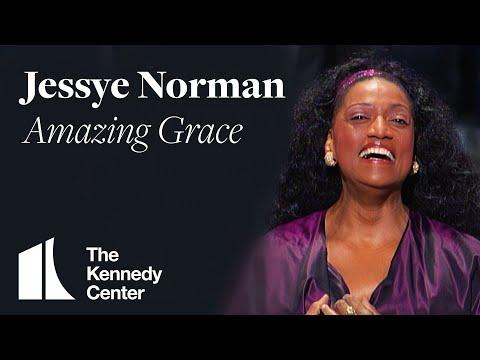 Jessye Norman - Amazing Grace (Sidney Poitier Tribute) | 1995 Kennedy Center Honors