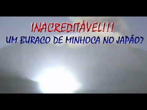 Portal Wormhole é capturado no Japão