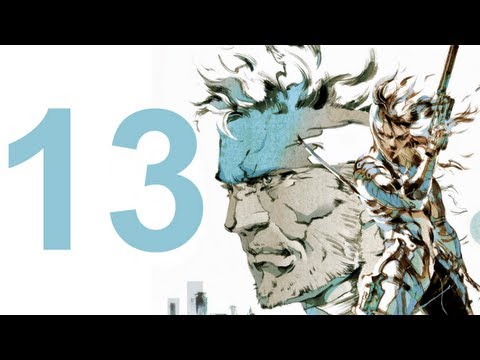 MGS 2 HD Collection - Walkthrough - Part 13 (No Commentary)