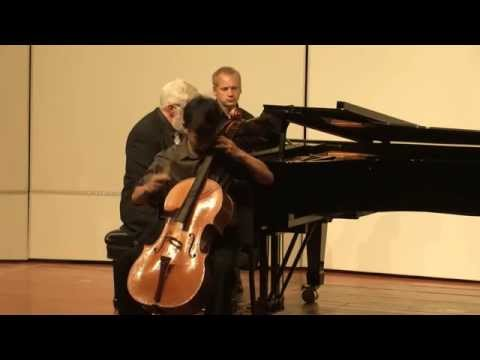 Jeremy Tai - Shostakovich Cello Concerto No. 1 in E flat major, Op. 107, Cadenza, Allegro con moto