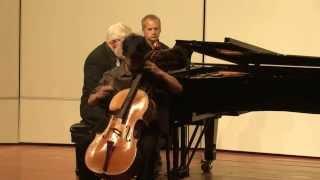 Jeremy Tai - Shostakovich Cello Concerto No. 1 in E flat major, Op. 107, Cadenza, Allegro con moto